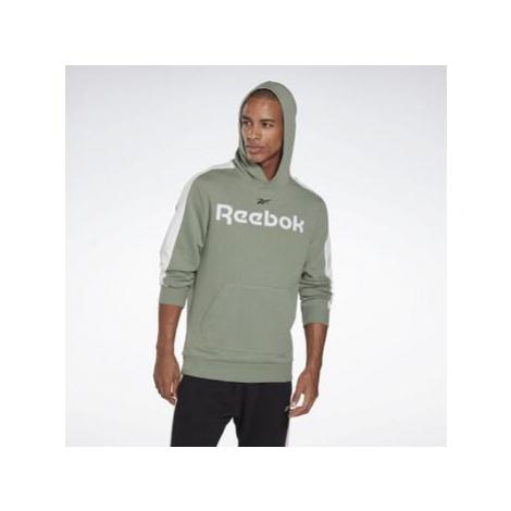 Reebok Sport Training Essentials Linear Logo Hoodie Zelená