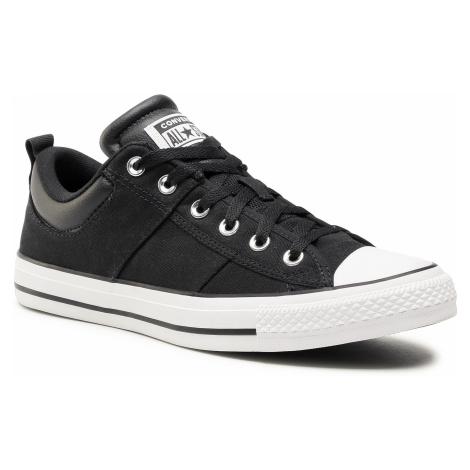 Plátěnky CONVERSE - Ctas Cs Ox 166963C Black/White/Black