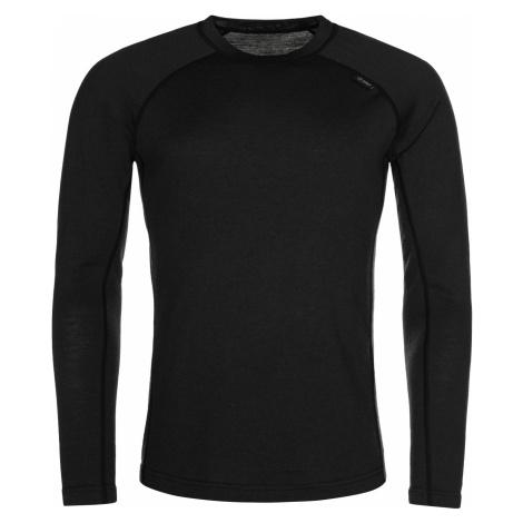 KILPI Pánské funkční merino triko PATTON-M NM0022KIBLK Černá