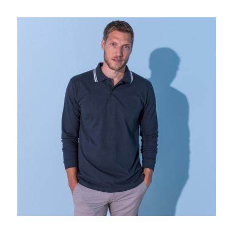 Blancheporte Polo tričko s dlouhými rukávy nám.modrá