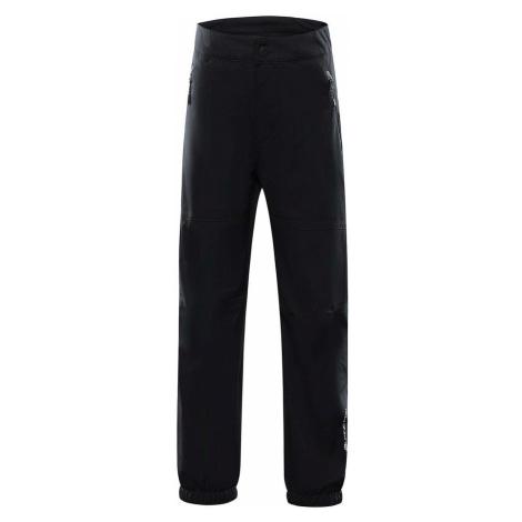ALPINE PRO OLWENO Dětské softshellové kalhoty KPAS155990 černá