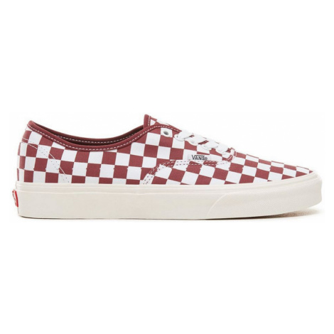 Vans Ua Authentic Checkerboard Port Royal červené VN0A38EMU54