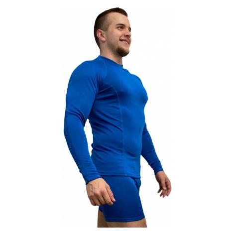 NanoBodix® RE-AGTOR triko s dlouhým rukávem pánské Modrá Pánské