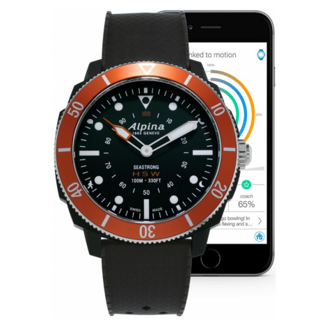 Alpina Seastrong Horological Smartwatch AL-282LBO4V6