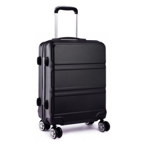 Černý střední cestovní kvalitní kufr Kylah Lulu Bags