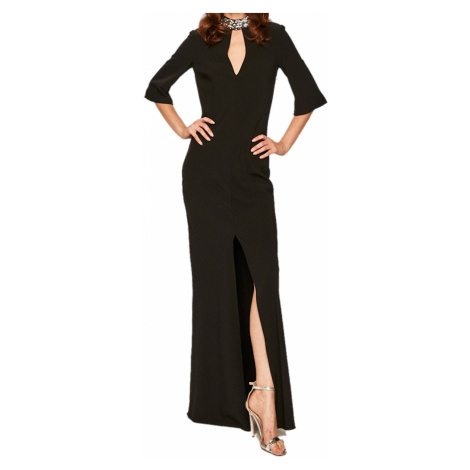 Černé společenské šaty TWINSET