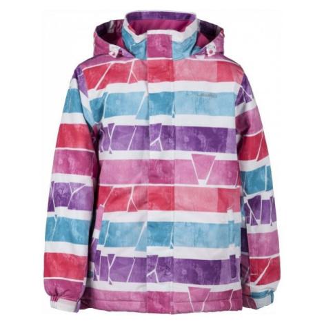 Lewro LEE 116-170 růžová - Dětská snowboardová bunda