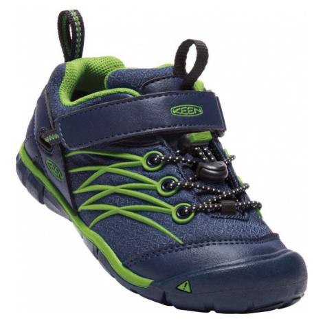 Dětské boty Keen Chandler WP C dress blues/greenery