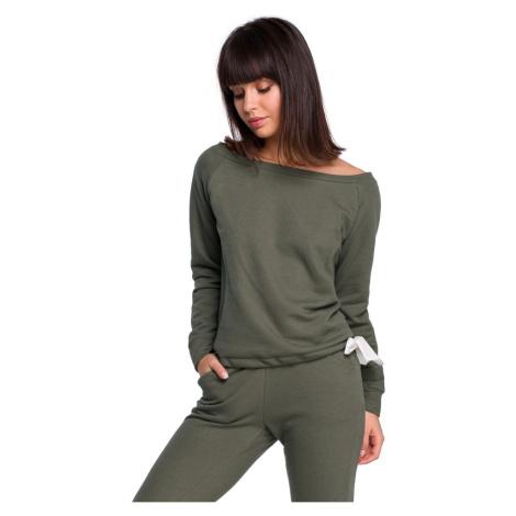 BeWear Woman's Sweatshirt B108 Khaki