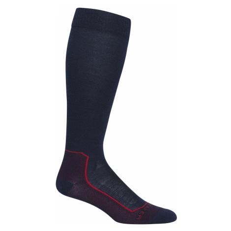 Pánské ponožky ICEBREAKER Mens Ski+ Ultralight OTC, Midnight Navy Icebreaker Merino
