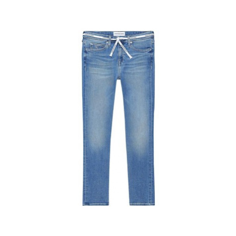 Calvin Klein Jeans J20J213997 Modrá