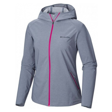 Columbia HEATHER CANYON SOFTSHELL JACKET W šedá - Dámská softshellová bunda