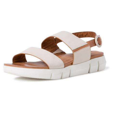 1-28190-34 Dámské boty 439 krémová