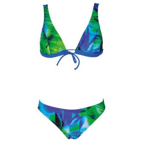 Arena PALM BOW BRA dámské plavky Barva: zelená