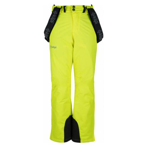 KILPI Chlapecké lyžařské kalhoty MIMAS-JB JJ0011KIYEL Žlutá