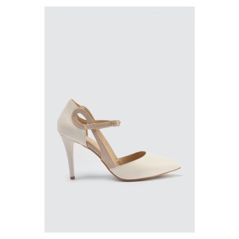 Trendyol White Women's Classic Heels