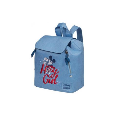 AT Batoh Modern Glow Disney Minnie Darling Blue, 24 x 16 x 28 (131929/8695) American Tourister