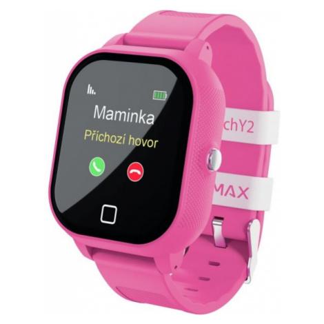 LAMAX WATCH Y2 růžová - Dětské chytré hodinky