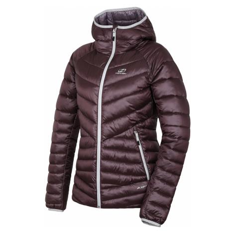 HANNAH DEBBY Dámská ultralehká zimní bunda 10005230HHX01 purple stripe