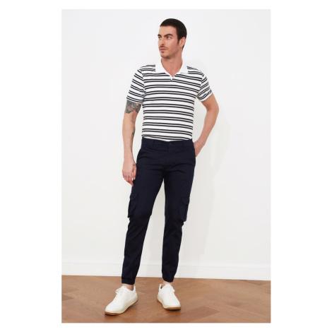 Trendyol Navy Blue Men's Cargo Jogger Pants