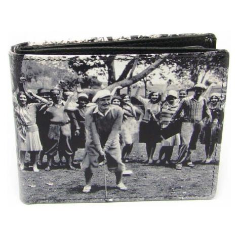 Malá peněženka retro kožená Golunski