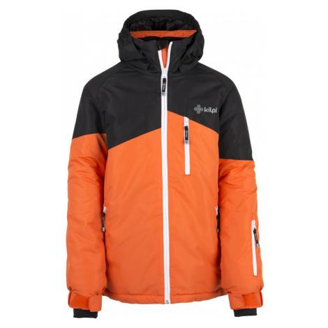 KILPI Chlapecká lyžařská bunda OLIVER-JB DJ0015KIORN Oranžová