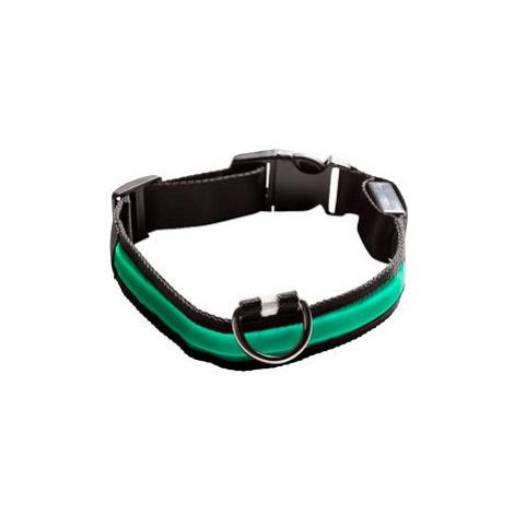 Eyenimal svítící obojek pro psy - zelený