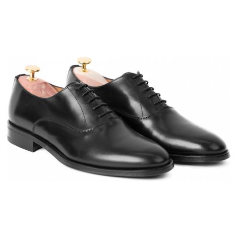 Elegantní oxfordky John & Paul - černé