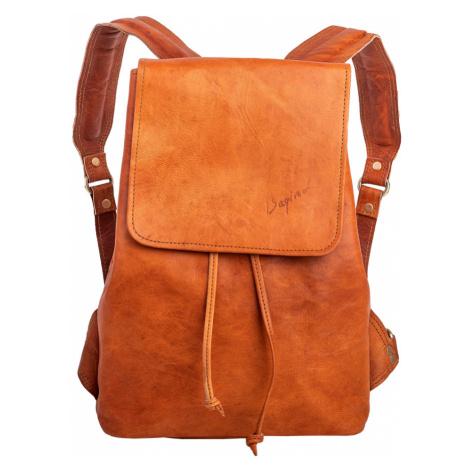 Bagind Daila - Dámský kožený batoh hnědý, ruční výroba, český design