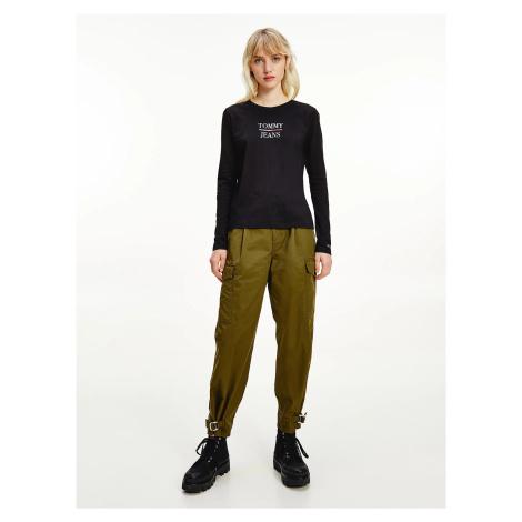 Tommy Jeans dámské černé tričko Tommy Hilfiger