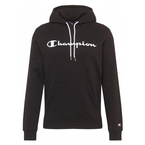 Champion Authentic Athletic Apparel Mikina černá / bílá