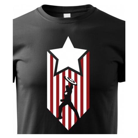 Dětské tričko s potiskem Kapitán Amerika - Captain America BezvaTriko