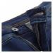ALPINE PRO Thasa Modrá / Tyrkysově Modrá Dámské džínové kraťasy LPAT484602