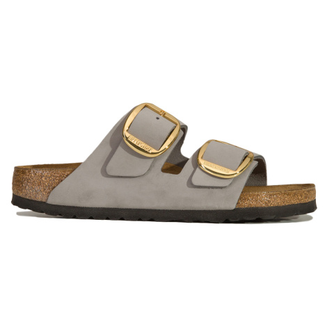 Pantofle Birkenstock ARIZONA BIG BUCKLE šedá