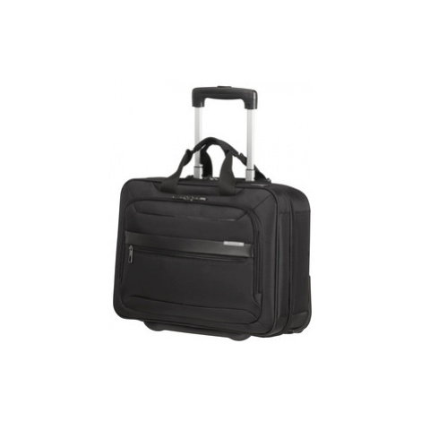 "SAMSONITE Taška na kolečkách na notebook 15.6"" Vectura Evo USB Black, 42 x 32 x 20 (123674/1041)"