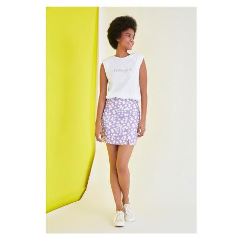 Trendyol Multicolored Printed Skirt