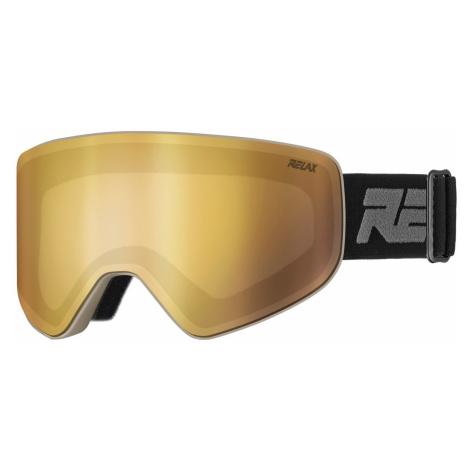RELAX SIERRA Lyžařské brýle HTG61E černá/šedá univerzální