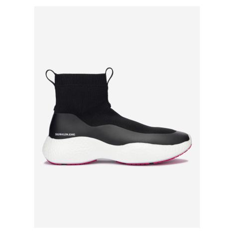 Runner Sneaker Sock Tenisky Calvin Klein Černá