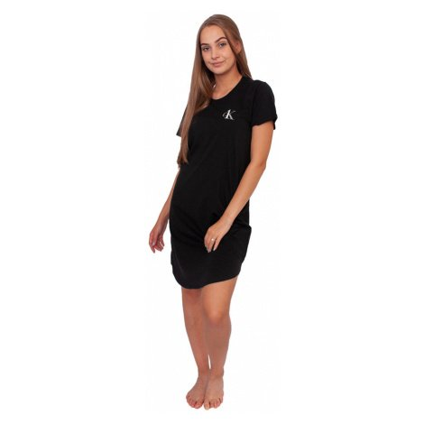 Dámská noční košile CK ONE černá (QS6358E-001) Calvin Klein