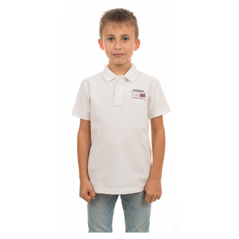 Napapijri chlapecké tričko bílé