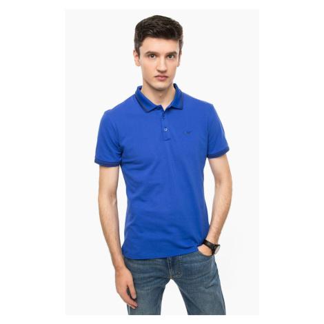 Armani Armani Jeans pánské modré polo tričko
