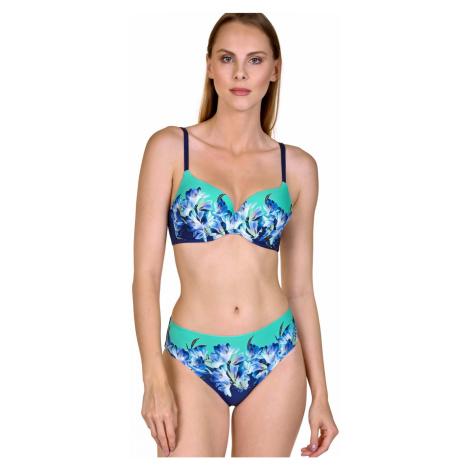Dámské plavky LISCA Egina 40484+41437 | modrá