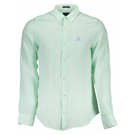GANT košile s dlouhým rukávem Barva: VERDE