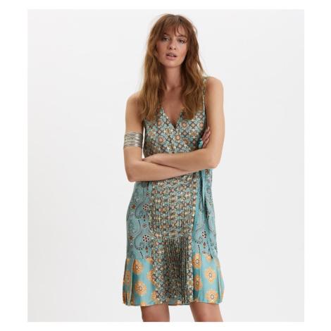 Šaty Odd Molly Funky Belle Dress - Modrá