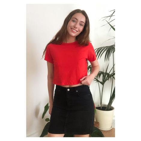 Dámské tričko Trendyol Crop-top
