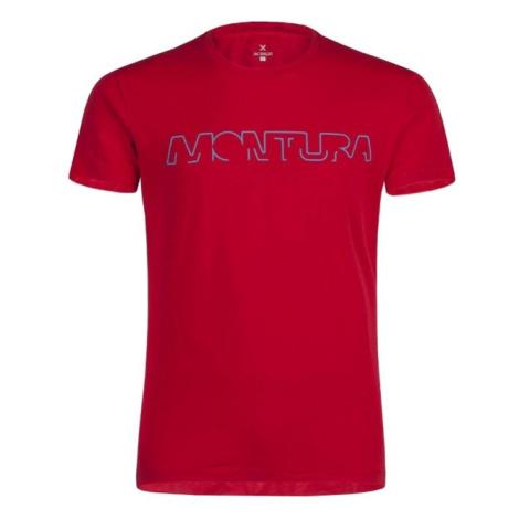 Montura tričko Brand, červená