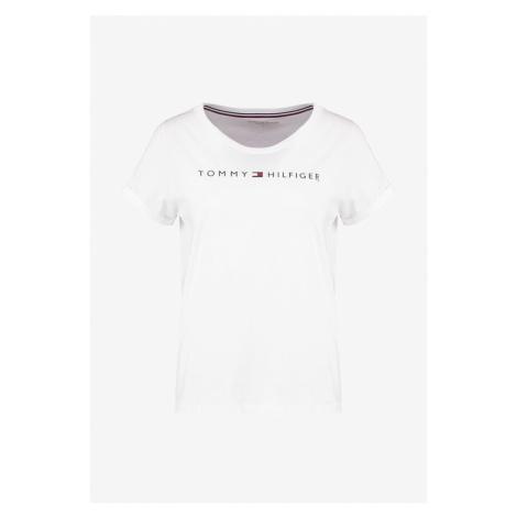 Tommy Hilfiger Tommy Hilfiger dámské bílé tričko RN TEE SS LOGO