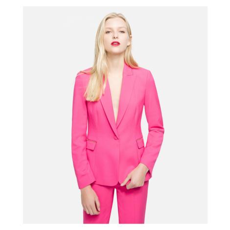 Blejzr Karl Lagerfeld Tailored Summer Blazer - Růžová