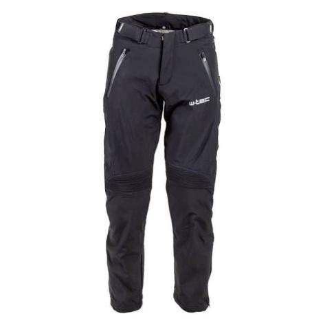 Pánské softshell moto kalhoty W-TEC Guslic NF-2801 Barva černá