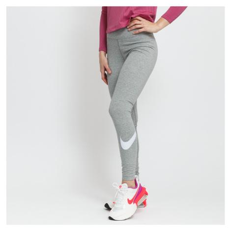 Nike W NSW Essential GX MR Legging melange šedé